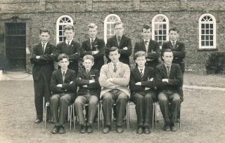 Scorton Grammer School (Front 2nd from right)