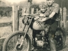 My first motor bike.